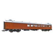SJ B1c 5166 Restaurant-vogn brun udgave