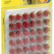 Græstuer blomstrende røde