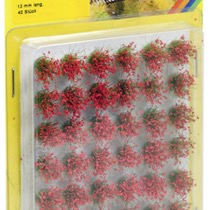 "Grass Tufts XL ""blooming"", red"