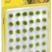 Grass Tufts, green