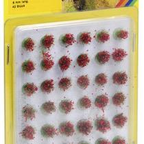 Græstuer blomstrende rød