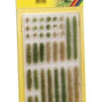 Græs strips - lys og mørkegrøn