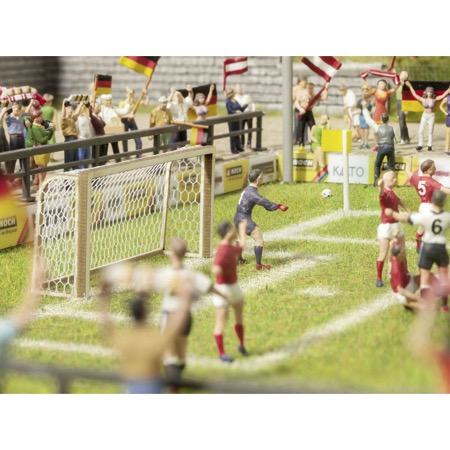 Football Goals and Corner Flags