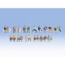 "XL Figures Set ""Sitting People"
