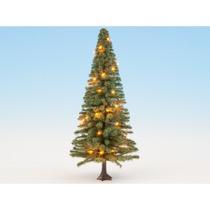 Belyst juletræ