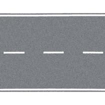 Hovedvej, grå, 100 x 4