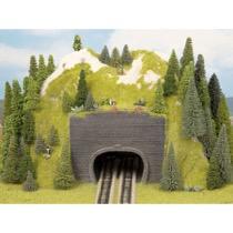 Forsats Tunnelportal 2 stk, dobbeltsporet