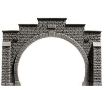 Tunnel Portal, Dobbeltspor