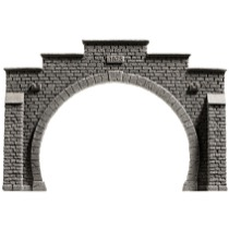 Tunnel Portal, Double Track, 12.3 x