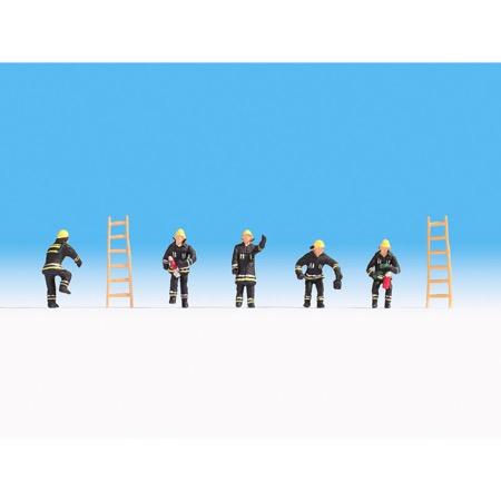 Brandmænd - Sort uniform