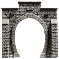Tunnel Portal, Enkeltsporet