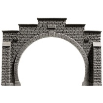 Tunnel Portal, double track, 21 x