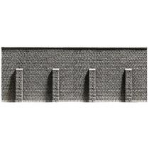 Støttemur - ekstra lang, 66,8 x 12,5 cm