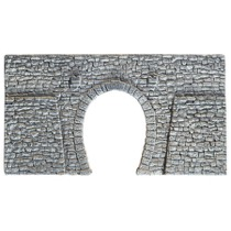 Kampestens Portal, enkeltspor, 23,5 x 13 cm
