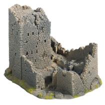 Castle Ruin, 18 x 14 cm