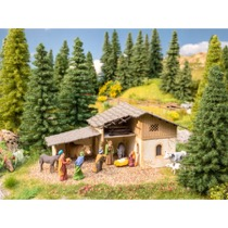 "Scenery Set ""Christmas Crib"