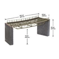 Bridge Deck, curved, radius (R1) 360