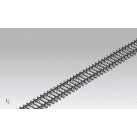 Flexgleis G940 mit Betonschwellen VE24