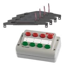 Sporskifte drev -Sæt (4x) + kontrolpult
