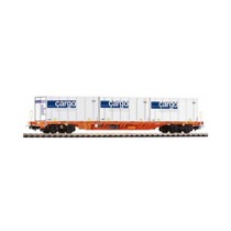 Containerbærevogn Wascosa/SBB DC