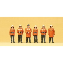 Feuerwehrmänner. Schutzanzug
