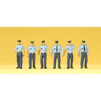 Franske betjente i sommeruniform