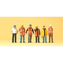 Arbejdere med refleksveste