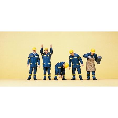 THW-Hjælpere, svejser indsatsuniform