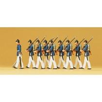 Preußische Infanterie. Parade