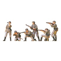 Infanteri i kamp tysk 2. verdenskrig