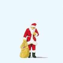 Julemand med gavesæk