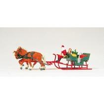 Schlitten, Weihnachtsmann, Pa