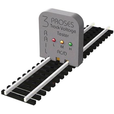 Gleisspannungsprüfer für das 3-Leiter System