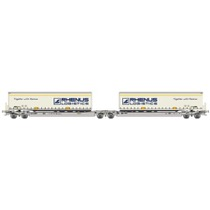 Twin car AAE Cargo DB Schenker