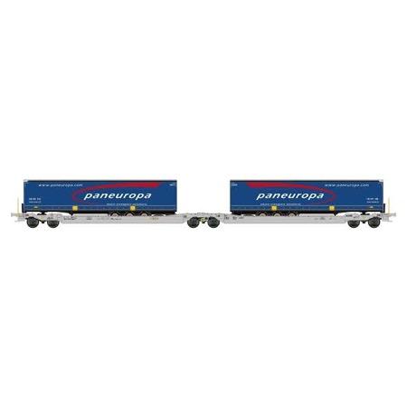 Twin car AAE Cargo TX Logistik
