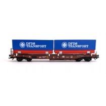 DB Sdkms lommevogn med DFDS Transport veksellad