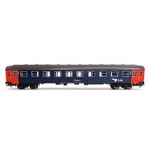 DSB Bc liggevogn Litra 86 50 30304-4, blå-rød
