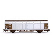 DSB Hbbillns storrumsvogn Litra 86 246 0 0xx-x, sølv/brun