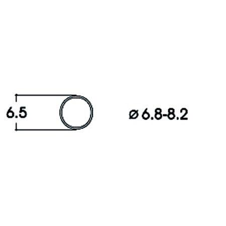 Hæfteringe         6.8-8.2mm