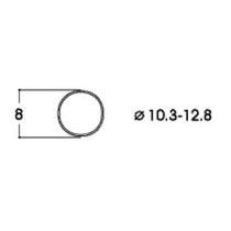 Hæfteringe          10.3-12.8mm