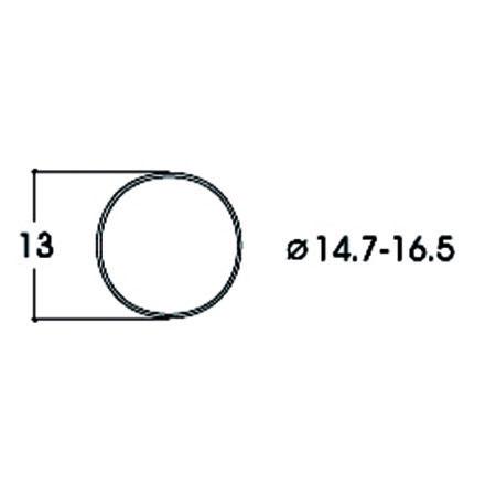 Hæfteringe        14.7-16.5mm