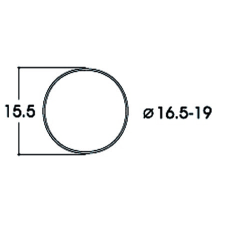 Kit:tract.wheel           16.5-19mm