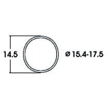Hæfteringe            15.4-17.5mm