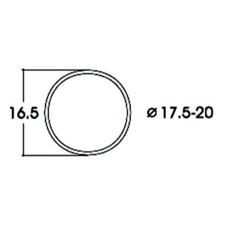 Hæfteringe        17.5-20.0mm