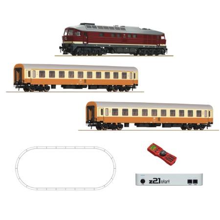 Digital z21startsæt: Diesellokomotiv BR 132 m. vogne DC