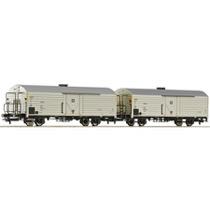 2-teiliges Set Kühlwagen der DB DC