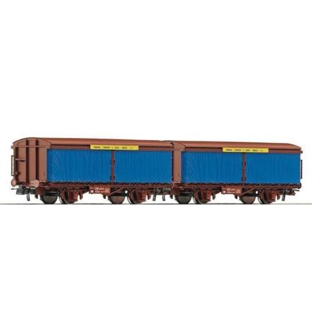 2-teiliges Set Blechtransportwagen der NS DC