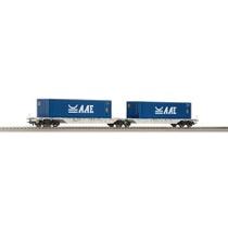 Container-Doppeltragwagen der AAE DC