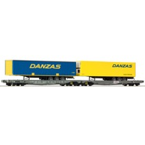 "Dobbelt trailervogn ""DANZAS"""
