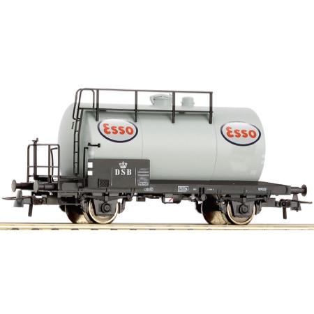"""DSB ZE 502 231 """"ESSO"""" tankvogn DC"""